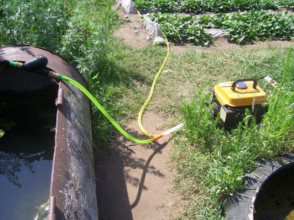 Самодельная система капельного полива огурцов