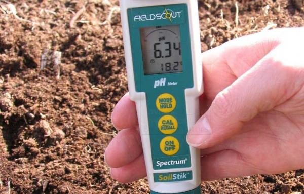 Прибор для определения щелочности почвы