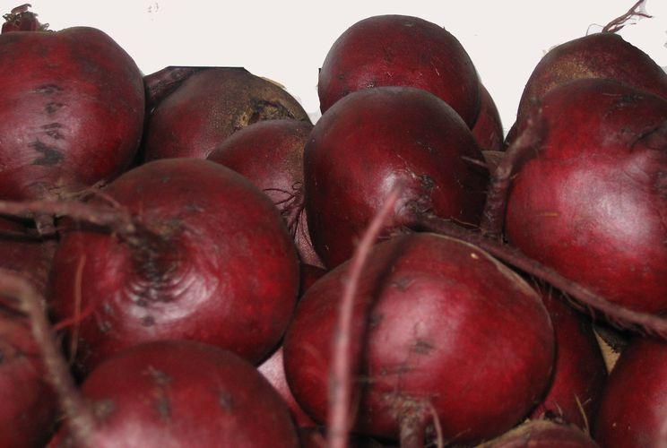 Созревшие корнеплоды на фото