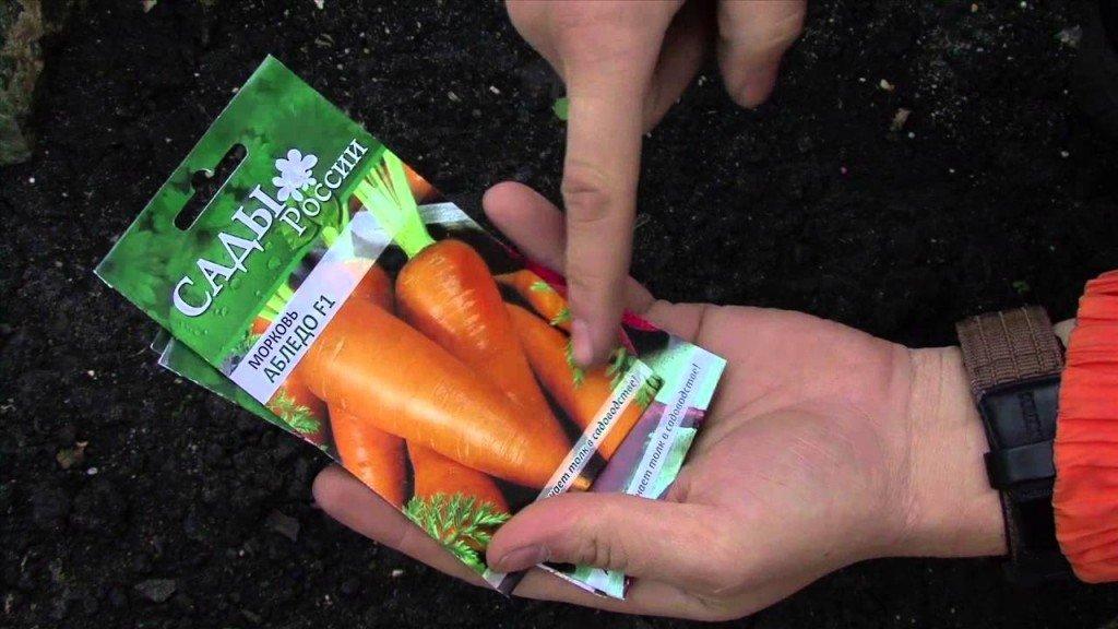 Морковь в упаковке на фото