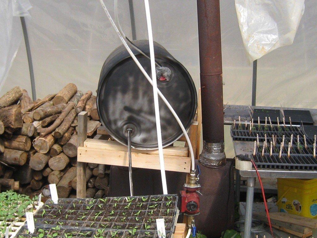 ОТопление при помощи газовой горелки