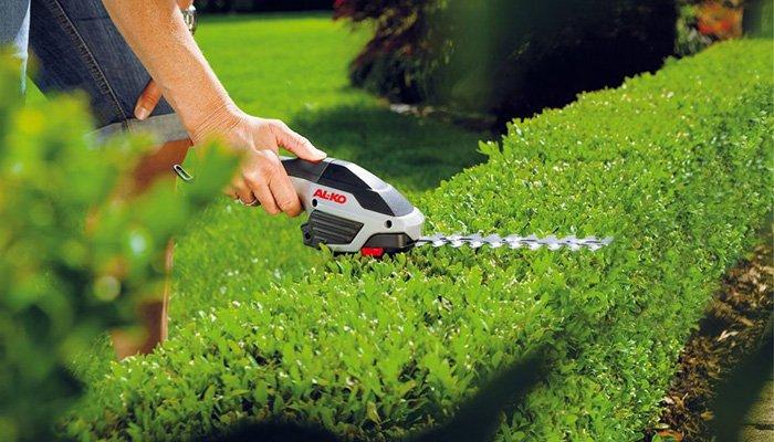 Садовая электропила для стрижки
