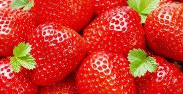 Спелые ягоды клубники фото