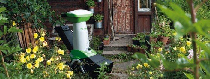 Модель большого садового измельчителя