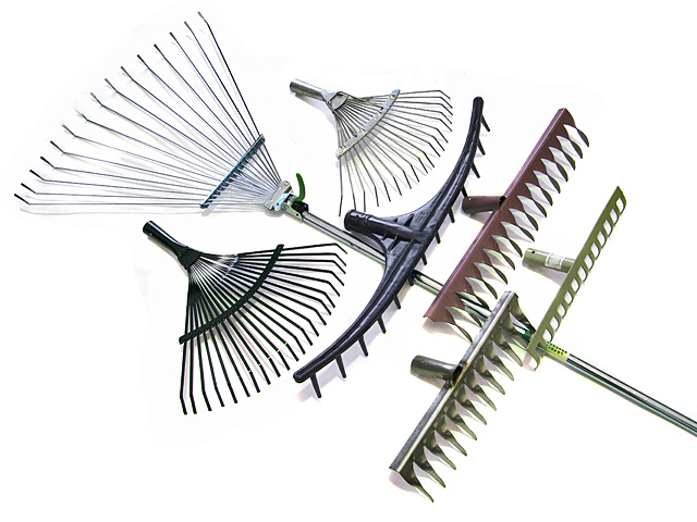 Много вариантов различных граблей