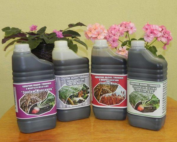 Оксидат торфа – регулятор роста для растений в саду