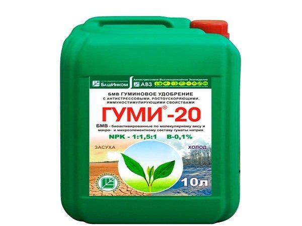 Препарат для растений в большом объеме