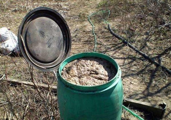 Отходы можно смешивать с другими органическими веществами