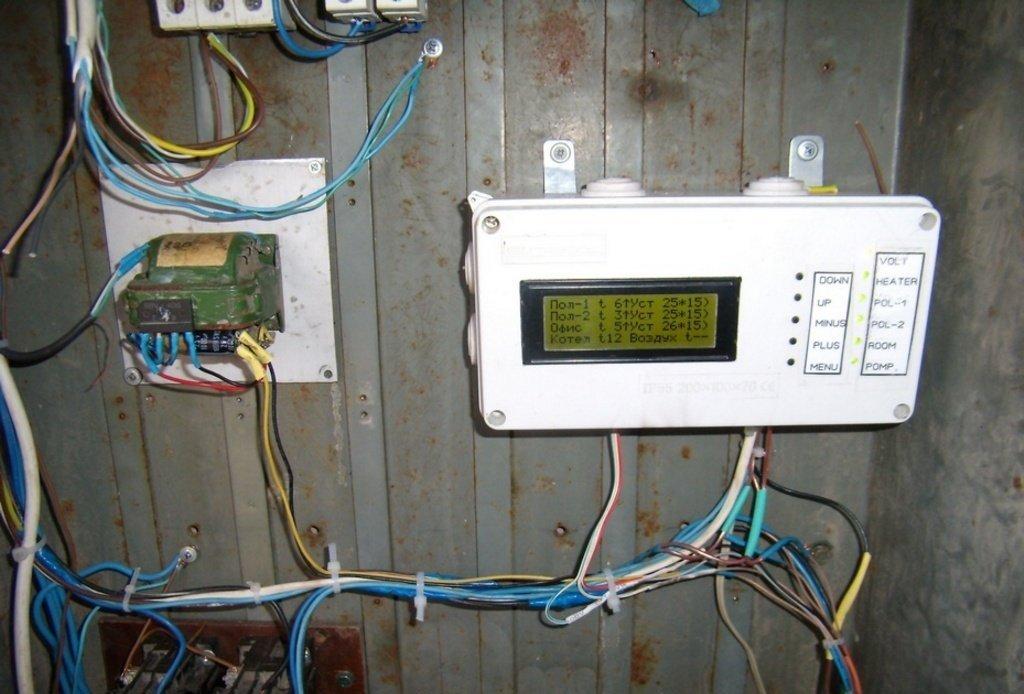 Использование самодельной системы теплорегуляции