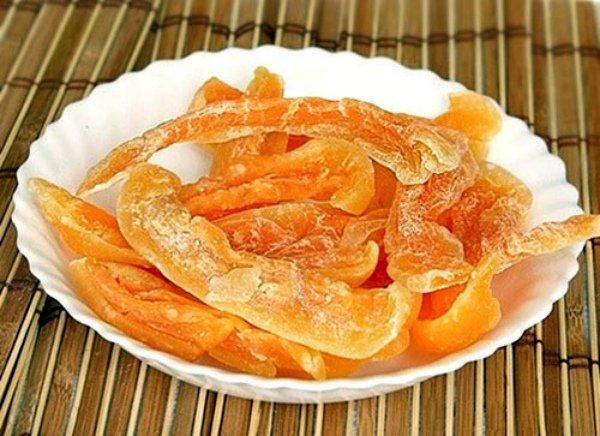 Сушеная дыня – вкусный домашний десерт
