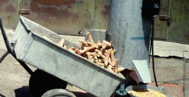 Установка для лущения кукурузы