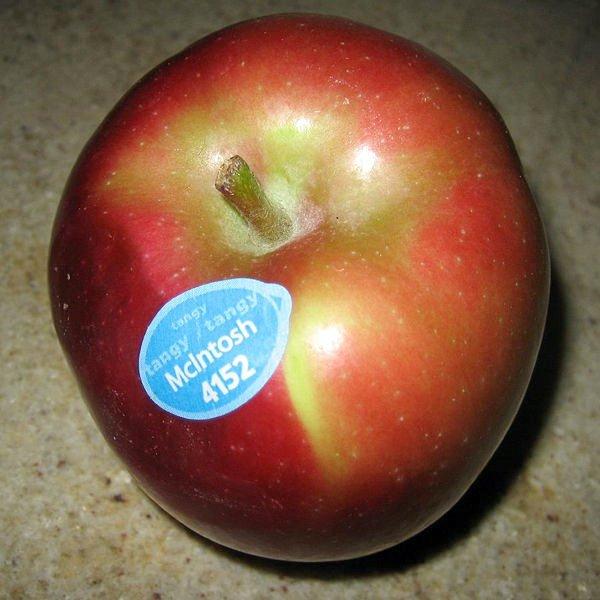 Фирменное канадское яблоко McIntosh