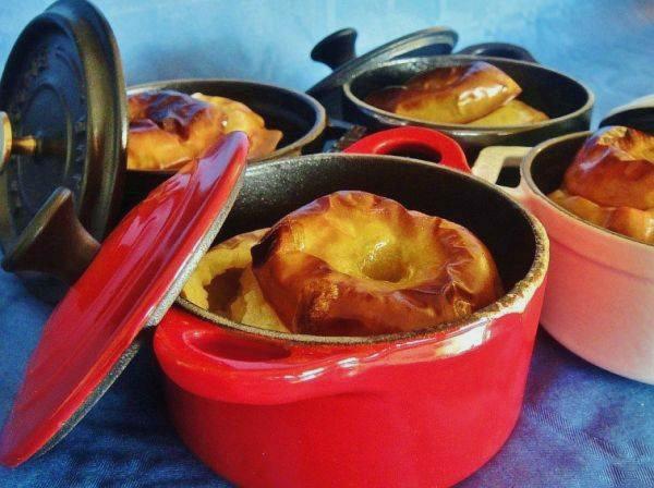 Десерт из запеченных яблок Макинтош