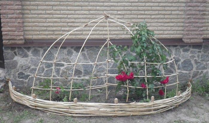 Опоры для роз плетистых