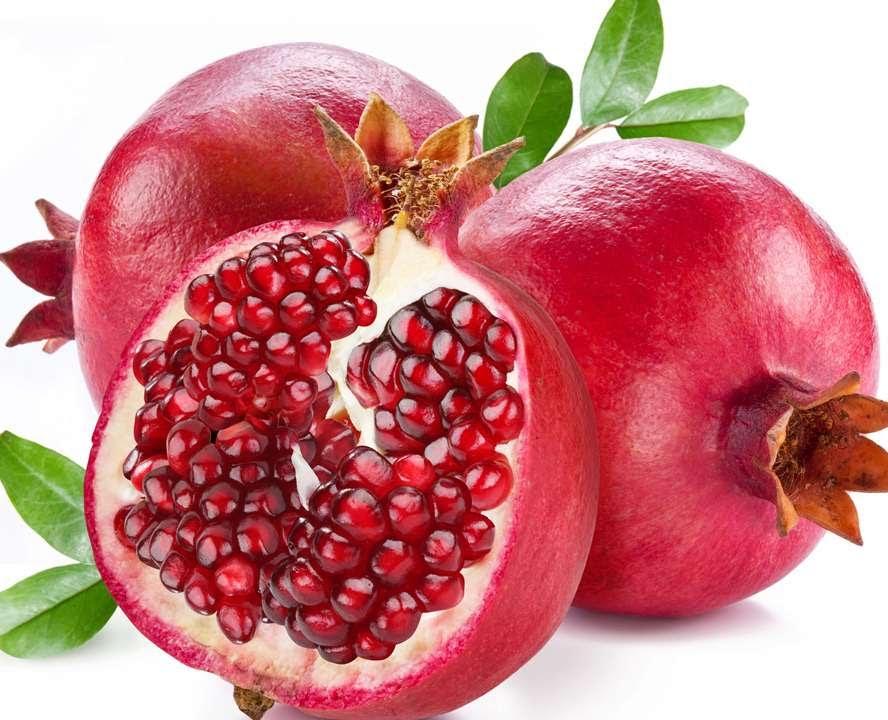 Плоды и семена граната