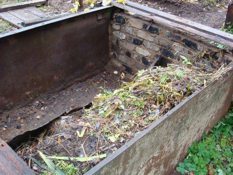 Глубокая компостная яма