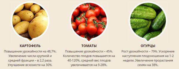 Биоудобрение повышает урожайность