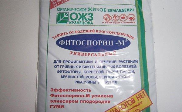 Препарат применяется для лечения мучнистой росы