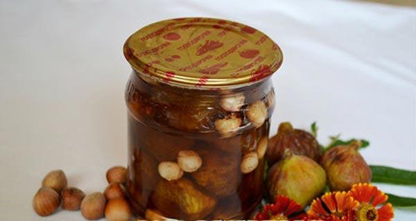 Варенье на зиму из инжира с орехами