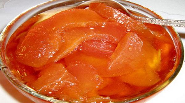 Варенье из персиков с целыми дольками