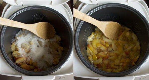 Приготовление абрикосового варенья в мультиварке
