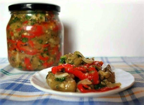Салат из баклажан «Десятка»