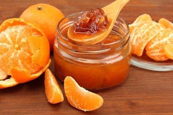 Варенье с мандаринами без сахара