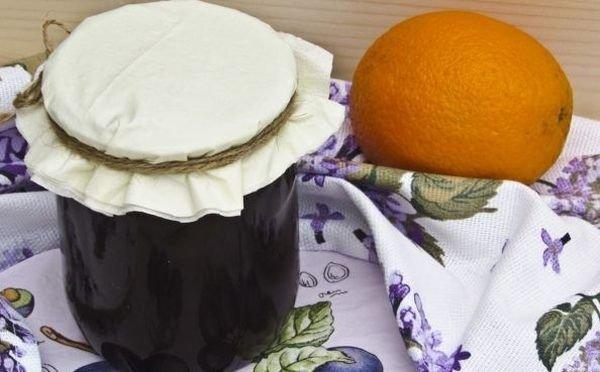 Терновое варенье с апельсинами