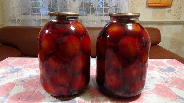 Соленье свеклы без стерилизации с помидорами