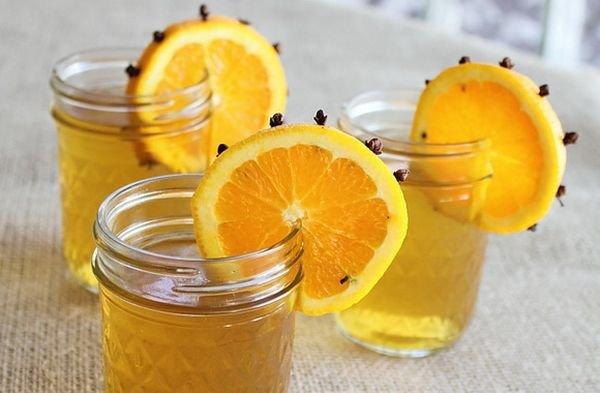 Напиток из апельсинов на зиму