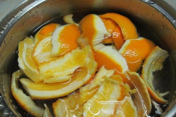 Компот из апельсиновых корок