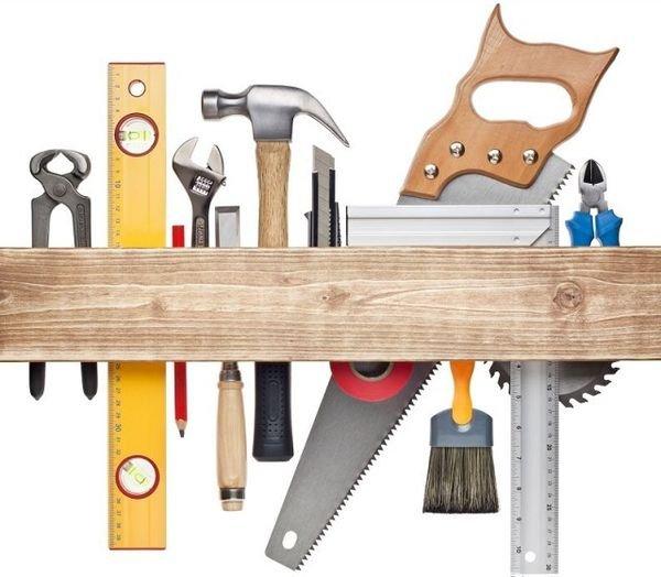 Инструменты для постройки беседки