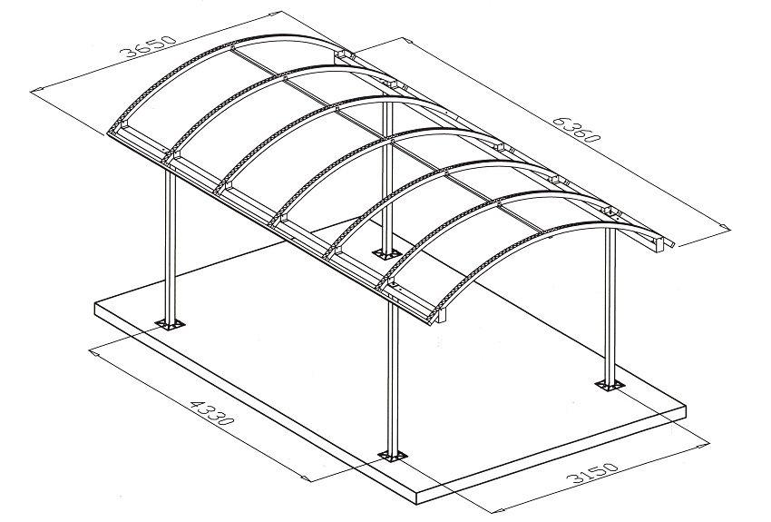 На чертеже должны быть указаны все размеры конструкции