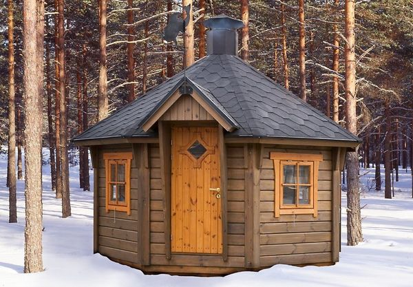 Финские беседки – сооружения с изысканным внешним видом