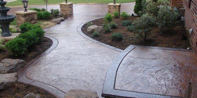 Монолитный бетон для обустройства территории дачи
