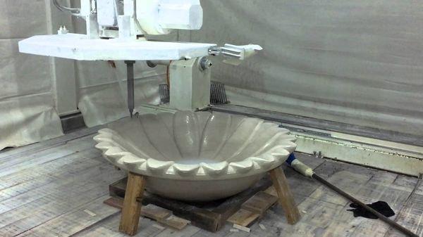 Изготовление чаши фонтана